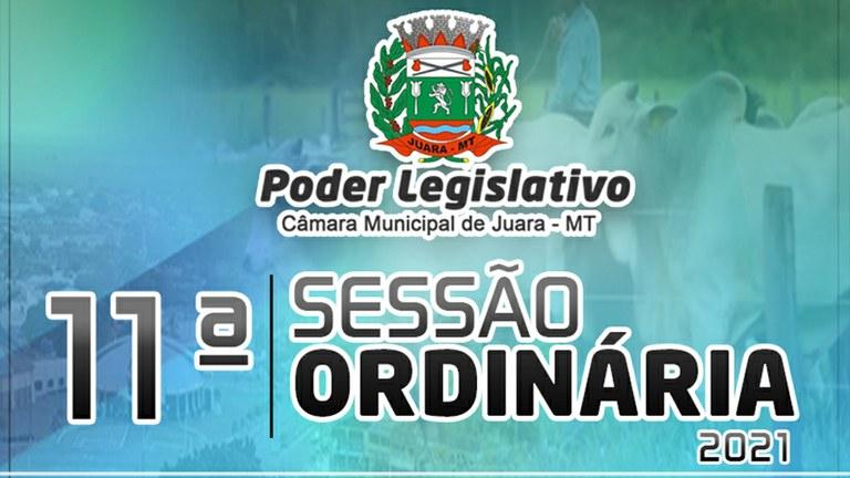 Acontecerá nesta segunda-feira 10 de maio às 19h30 a 11ª Sessão Ordinária do Poder Legislativo Juarense