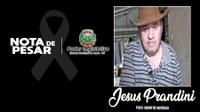 Ex-vereador, Jesus Prandini, morre vítima de COVID-19