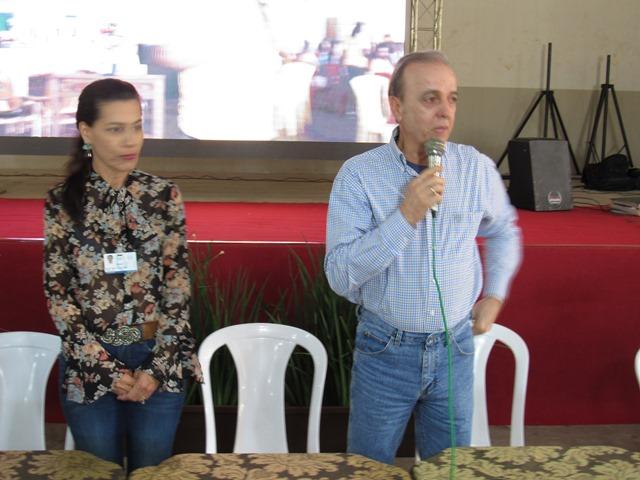 Henrique Prata, presidente da Fundação Pio XII visitou Juara neste sábado, dia 16.