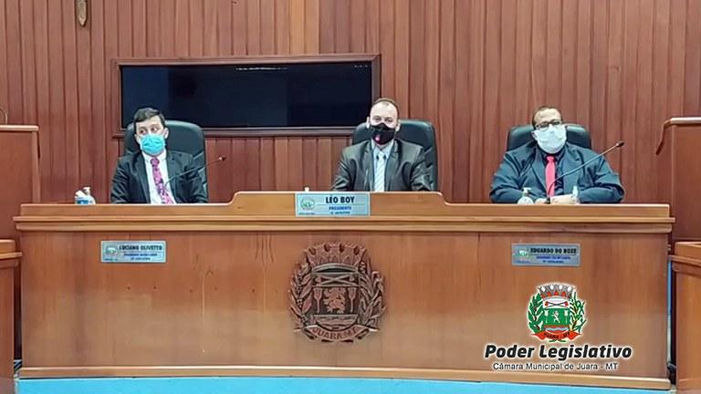 Resumo da 10ª Sessão Ordinária do Poder Legislativo Juarense em 2021